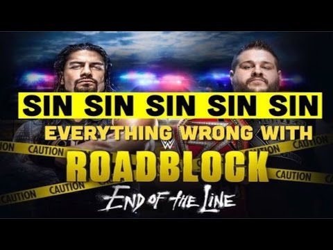 Episode #202: Everything Wrong With WWE Roadblock II: End Of The Line