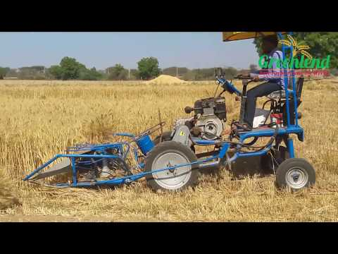Rice And Wheat Four Wheel Reaper Binder