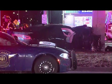 2 women killed in shootout in Clinton Township, suspects arrested after chase ends in crash