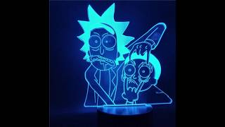 Rick and Morty Merchandise | Shop For Gamers #rickandmorty #mousepad #fashion #lamp #actionfigure