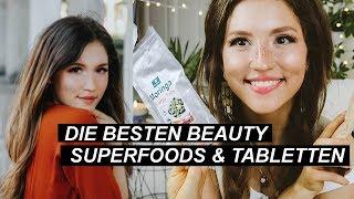 Beauty Superfoods & Kapseln für glowy Haut| Aging, Akne, spröde Haut, Haare, Entzündungen