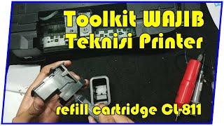 Alat Penyedot Cartridge Canon iP2770 ( toolkit catridge, catrid, vakum )
