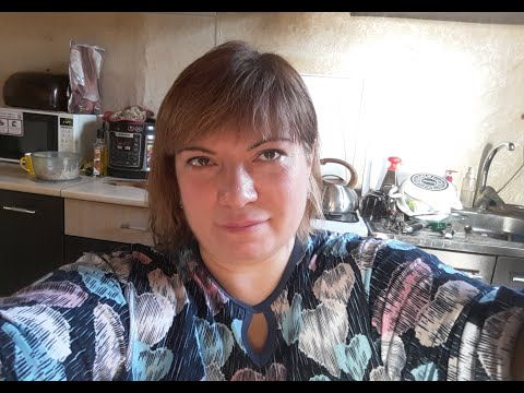 Влог/Осталась с детьми/Рецепт салата и чёрной икры/Вечер