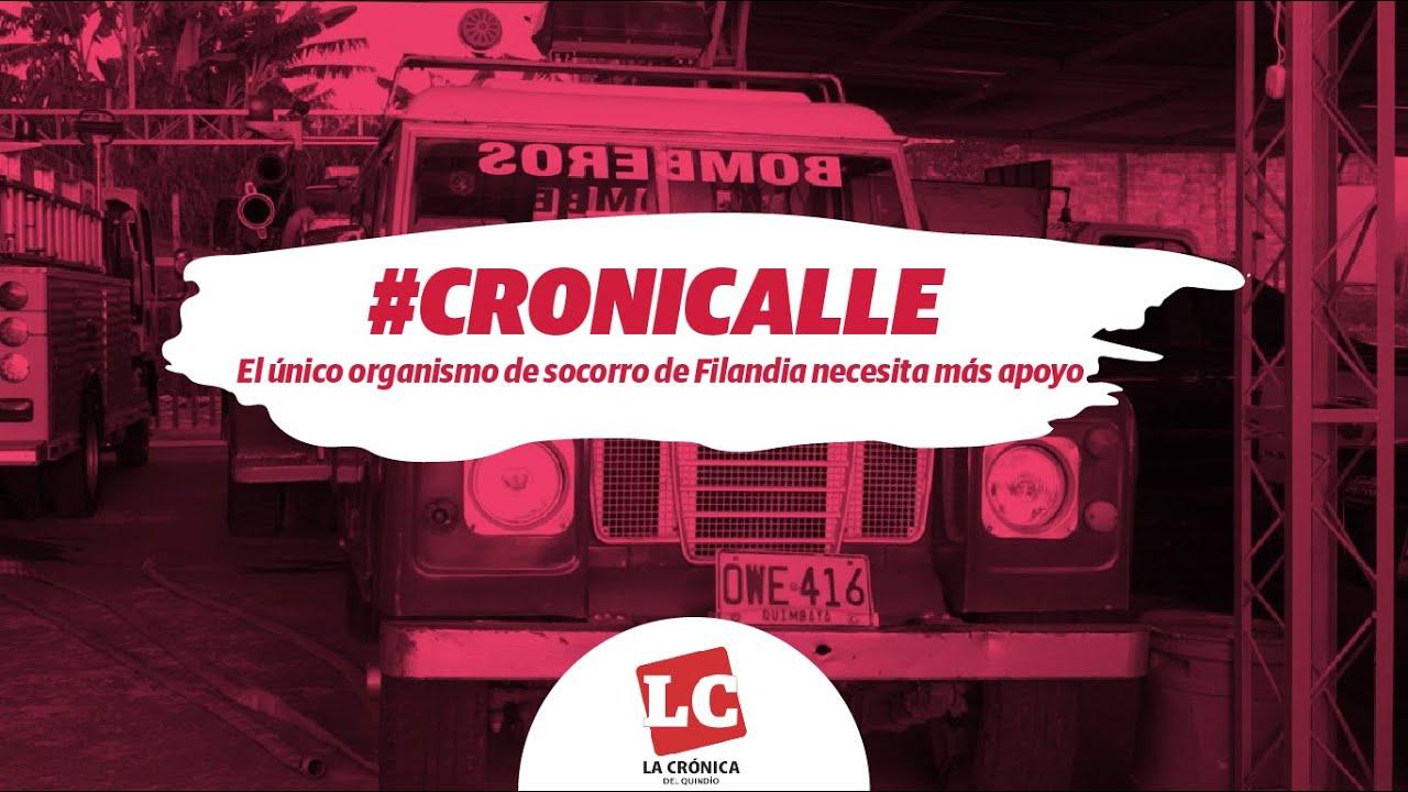 #Cronicalle | El único organismo de socorro de Filandia necesita más apoyo