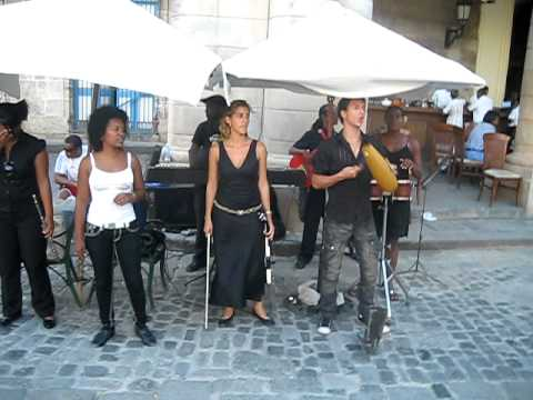 Куба. Старая Гавана. Песня про Че Гевару