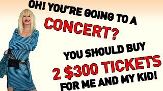 Entitled Aunt Thinks I Have To Buy Her Tickets (r/EntitledParents)