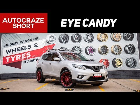 Eye Candy X-Trail // SSW Nurberg wheels  | AutoCraze 2018
