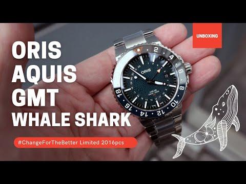 Oris Aquis GMT Whale Shark Limited Edition 01 798 7754 4175-Set