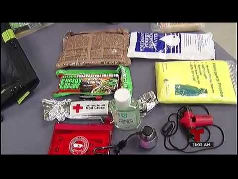 Artículos de primera necesidad en caso de emergencia