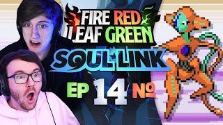 IS IT OVER!? • Pokemon Fire Red & Leaf Green Randomizer Soul Link • 14