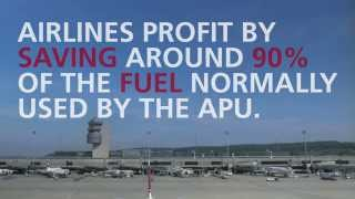 Pre-conditioned Air (PCA) and 400 HZ Power - AGES - Aircraft Ground Energy System