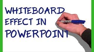Powerpoint Whiteboard Animation Tutorial