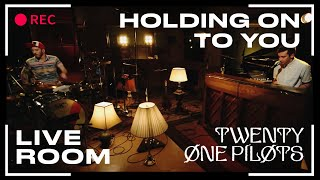 "twenty one pilots - ""Holding On To You"" captured in The Live Room"