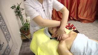 Смотреть онлайн Обучение технике испанского массажа лица