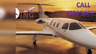 Destination in Air Ambulance Services from Ranchi to Delhi by King Air