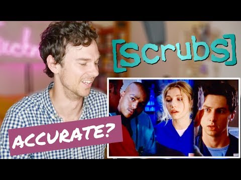 """SCRUBS """"My Old Lady"""" real DOCTOR reaction 