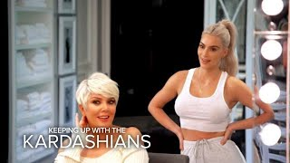 KUWTK   Kris Jenner Is Feeling Her Icy Blonde Hairdo   E!