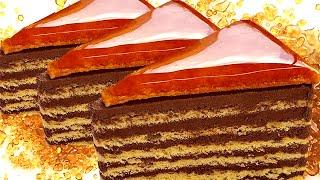 👌 100% Authentic Dobos Torte [Hungarian Cake Recipe]