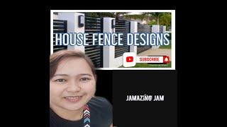 10 Simple But Elegant House Fence Designs