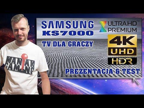 Samsung KS7000, 4K HDR (prezentacja i test)