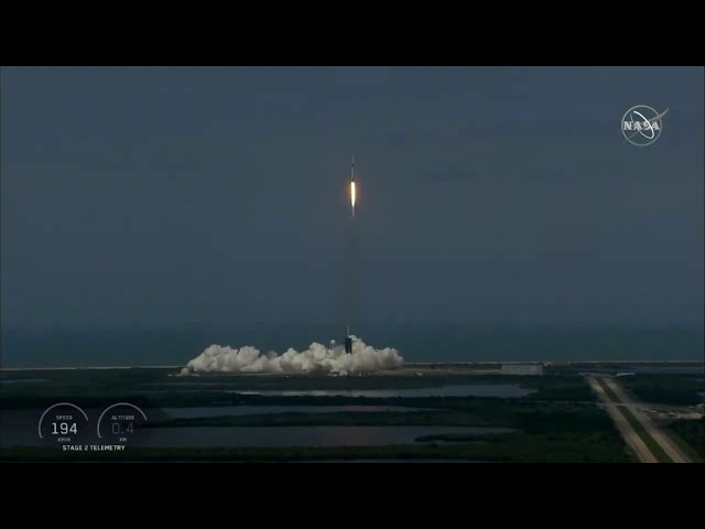 Nasa astronauts make history with SpaceX launch - NASA TV's Media Channel