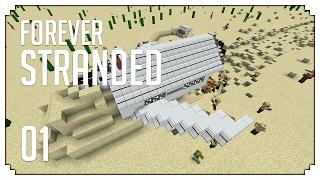 ►Forever Stranded: CRASH LANDING SEQUEL! (Modded Minecraft #1)◄