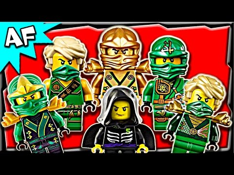 Lego Ninjago Lloyd GREEN NINJA Minifigures Complete Collection