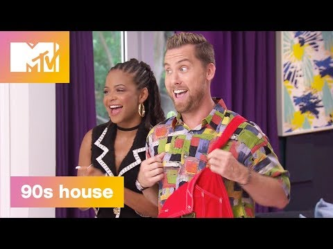'Time Warp' Official Sneak Peek | 90's House: Hosted by Lance Bass & Christina Milian | MTV