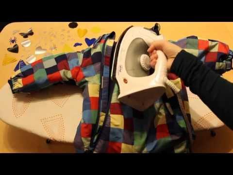 Reflektoren aufbügeln: So bügelt Ihr ein Reflektor Bügelbild für Kleidung auf