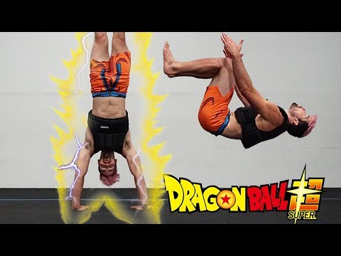 Dragon Ball Super Goku Training In Real Life (DBS Parkour)