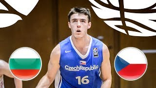 Bulgaria v Czech Republic - Full Game - Class. 5-8 - FIBA U20 European Championship Div B 2018 | Kholo.pk