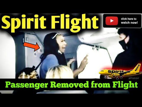 ✅Spirit Passenger Removed From Flight✈| After Bizarre Tirade About White Privilege | #Spirit |15 SEP
