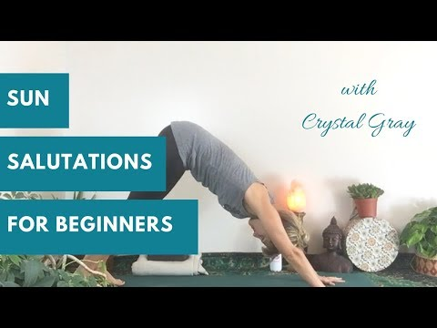 How to do sun salutation A to warm up and wake up the body