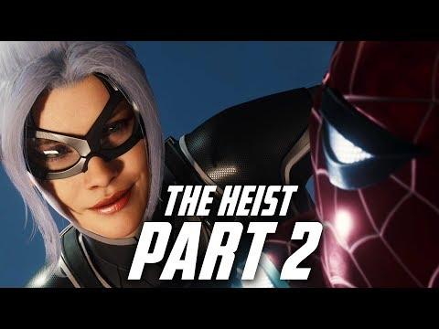 Spider-Man THE HEIST DLC Gameplay Walkthrough Part 2 - BLACK CAT