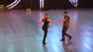 Ben Morris & Victoria Henk - West In Lyon 2017 Pro Show Demo