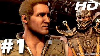 Mortal Kombat X Parte 1 Modo Historia Español Latino Johnny Cage (PS4)
