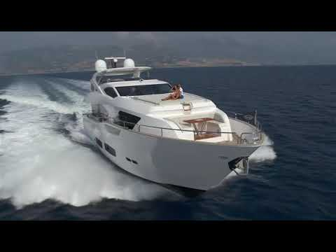 Sunseeker 95 Yacht video