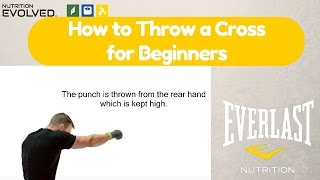 How to throw a Cross in boxing (A step by step guide for Beginners)