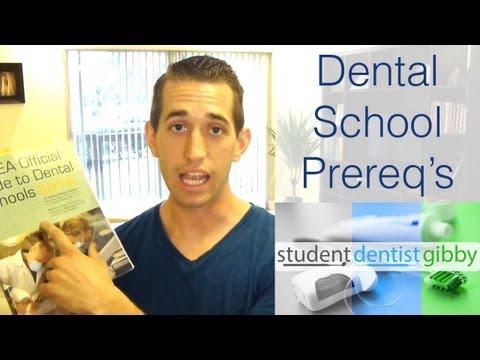 Dental School Prerequisites