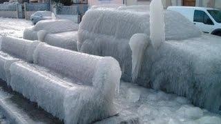 Frozen Car Compilation - Замороженный автомобиль - Video HD