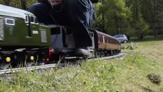 5 Inch Gauge Class 40 Locomotive Built By AP Model Engineering