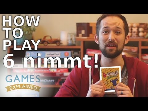 Quick, Complete Rules Explanation for 6 Nimmt!
