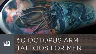60 Octopus Arm Tattoos For Men