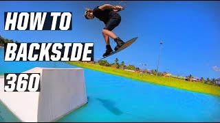 #5 Cablepark Wakeboard Intermediate – Backside 360 tutorial