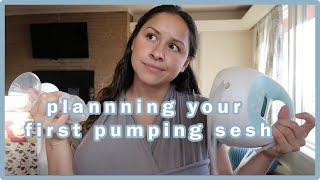 PUMPING | SCHEDULING W/ NURSING | FIRST TIME MOM