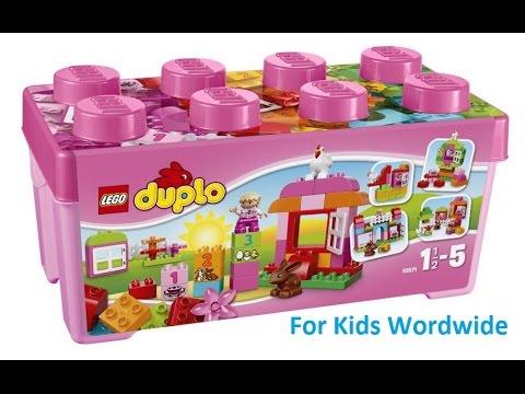 Vidéo LEGO Duplo 10571 : Grande boîte mon jardin merveilleux