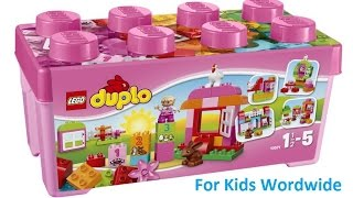 Duplo Lego - All In One Pink Box Of Fun ❤ For Kids Worldwide ❤