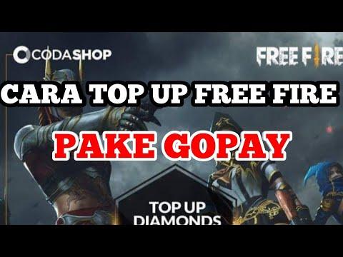CARA TOP UP FREE FIRE PAKAI GOPAY DI CODASHOP