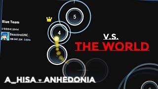 BeasttrollMC v.s THE WORLD | 1v15 osu! Multiplayer