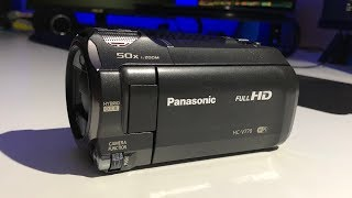 New Camcorder (Finally!) - Panasonic HC-V770